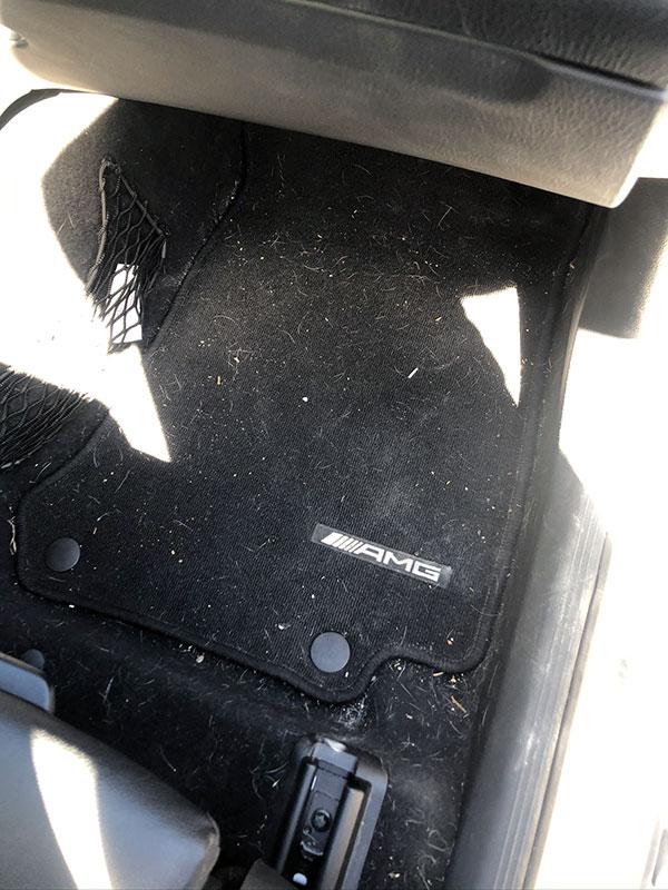 Nettoyage d'intérieur de voiture