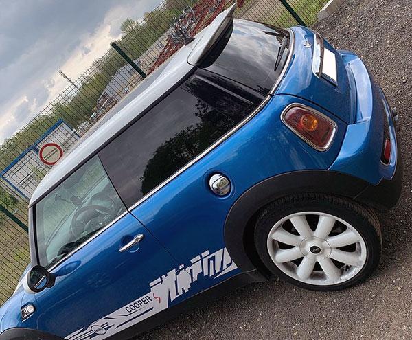 Protection solaire automobiles Mini Cooper